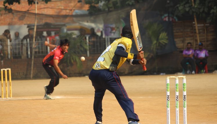 The National Liver Foundation of Bangladesh (NLFB) used the country's love of cricket to raise awareness of viral hepatitis, reach wider audiences and spread the NOhep message. NLFB launch a NOhep cricket team on Nov 13, 2016 at Dhaka and organized cricket tournament to spread the viral hepatitis message. The stamps of the pitch of the tournament designed with NOhep awareness theme.