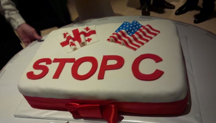 cake with Stop C